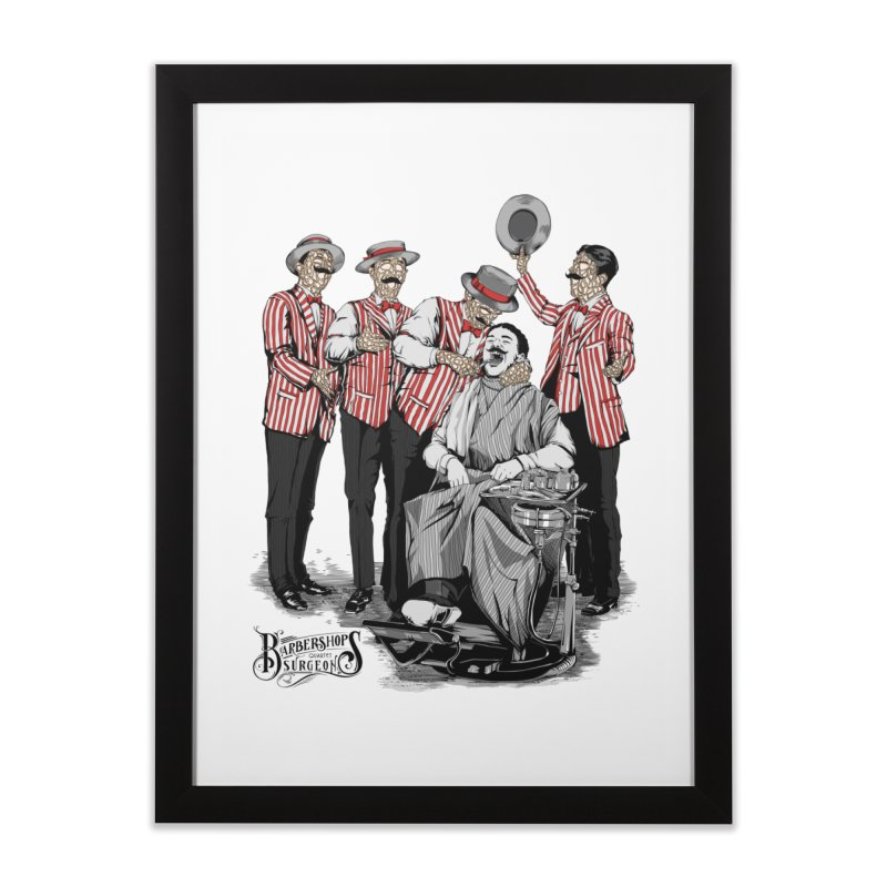 Barbershop Quartet Surgeons Home Framed Fine Art Print by Gabriel Mihai Artist Shop