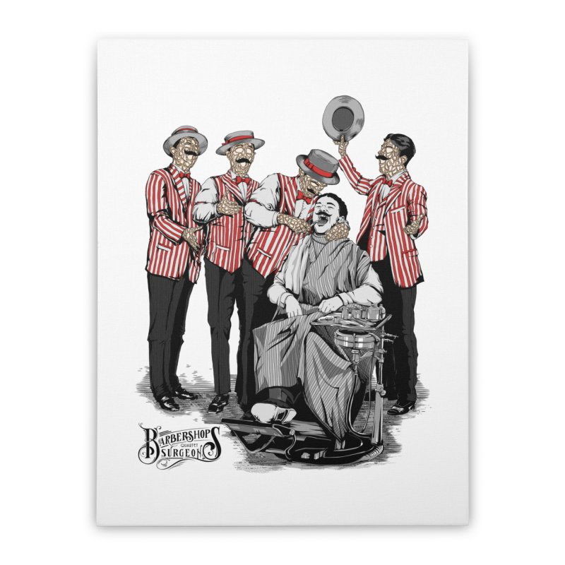 Barbershop Quartet Surgeons Home Stretched Canvas by Gabriel Mihai Artist Shop