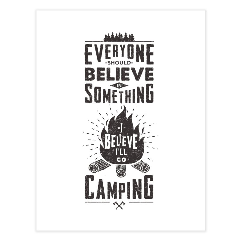 Camping Home Fine Art Print by Gabriel Mihai Artist Shop