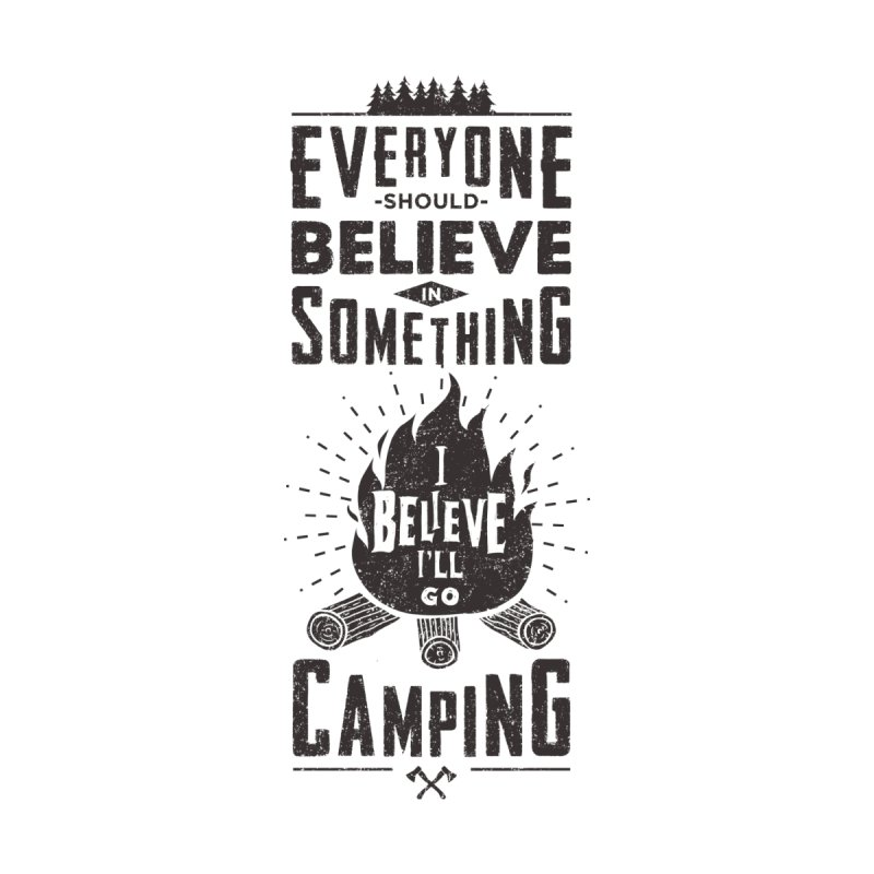 Camping Men's T-Shirt by Gabriel Mihai Artist Shop