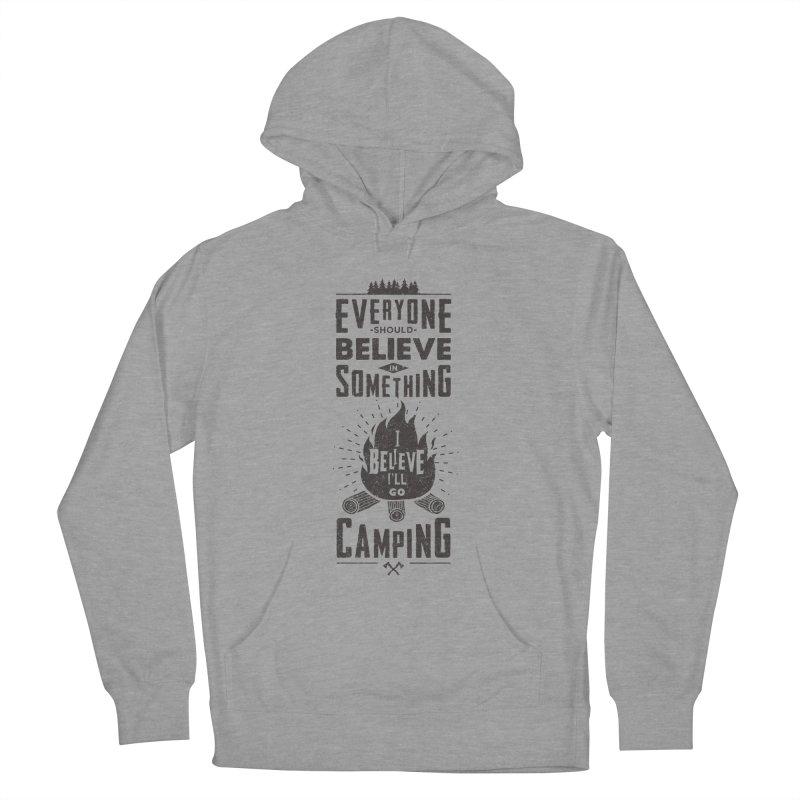 Camping Men's Pullover Hoody by Gabriel Mihai Artist Shop