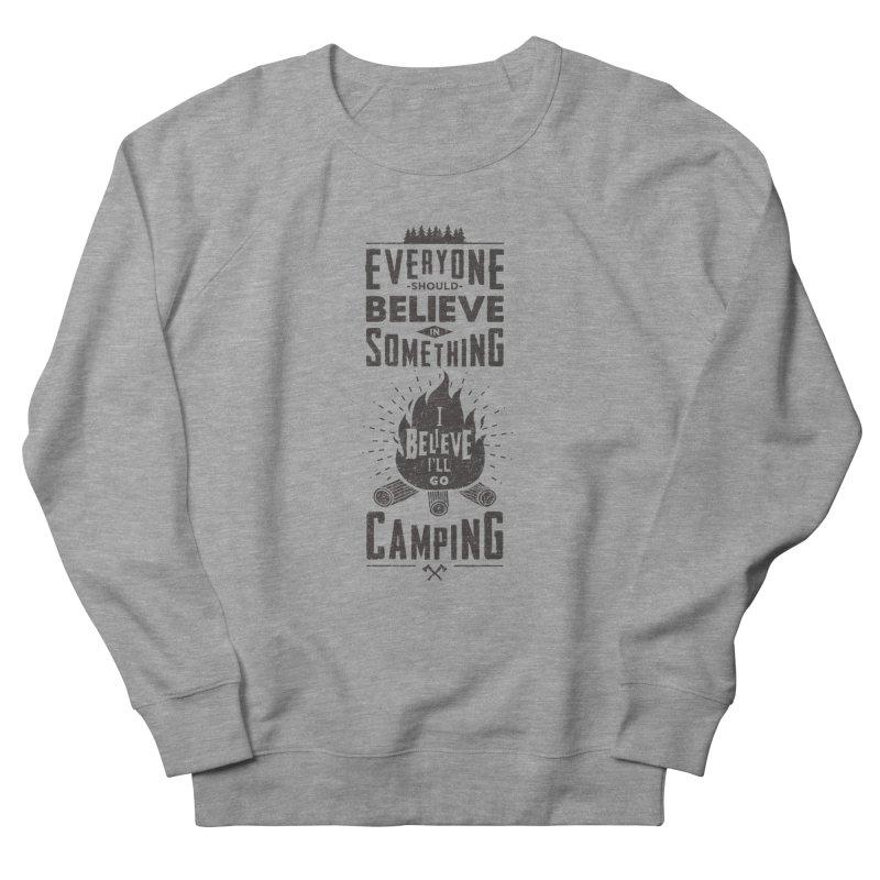 Camping Men's Sweatshirt by Gabriel Mihai Artist Shop