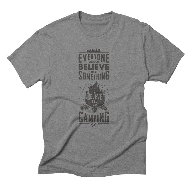 Camping Men's T-Shirt by Gabriel Mihai Artist Shop