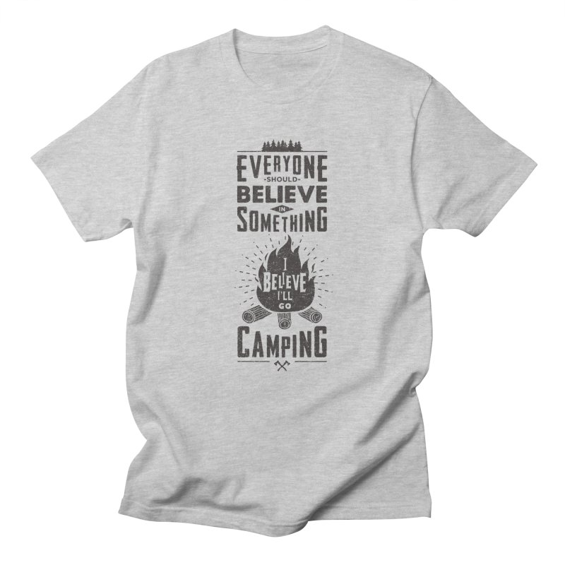 Camping Men's Regular T-Shirt by Gabriel Mihai Artist Shop