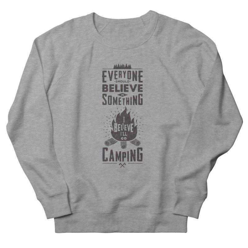 Camping Women's Sweatshirt by Gabriel Mihai Artist Shop