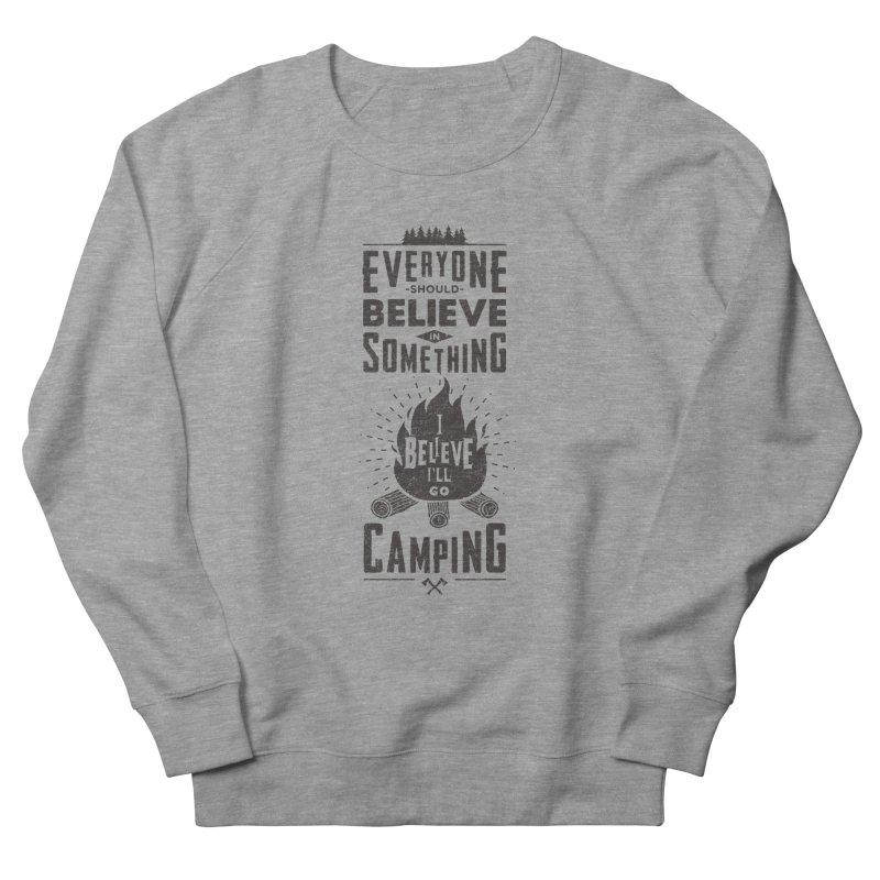 Camping Men's Sweatshirt by Gabriel Mihai Artist Shop