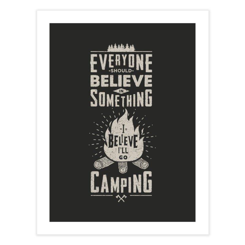 Camping v2 Home Fine Art Print by Gabriel Mihai Artist Shop