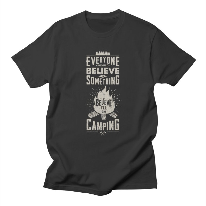 Camping v2 Men's T-Shirt by Gabriel Mihai Artist Shop