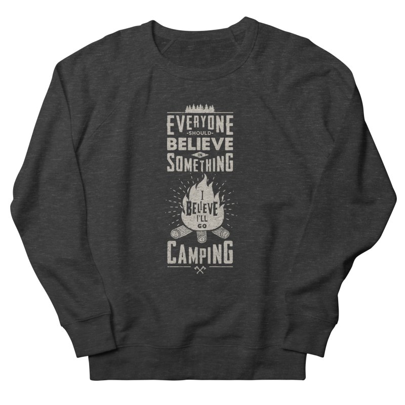 Camping v2 Men's Sweatshirt by Gabriel Mihai Artist Shop