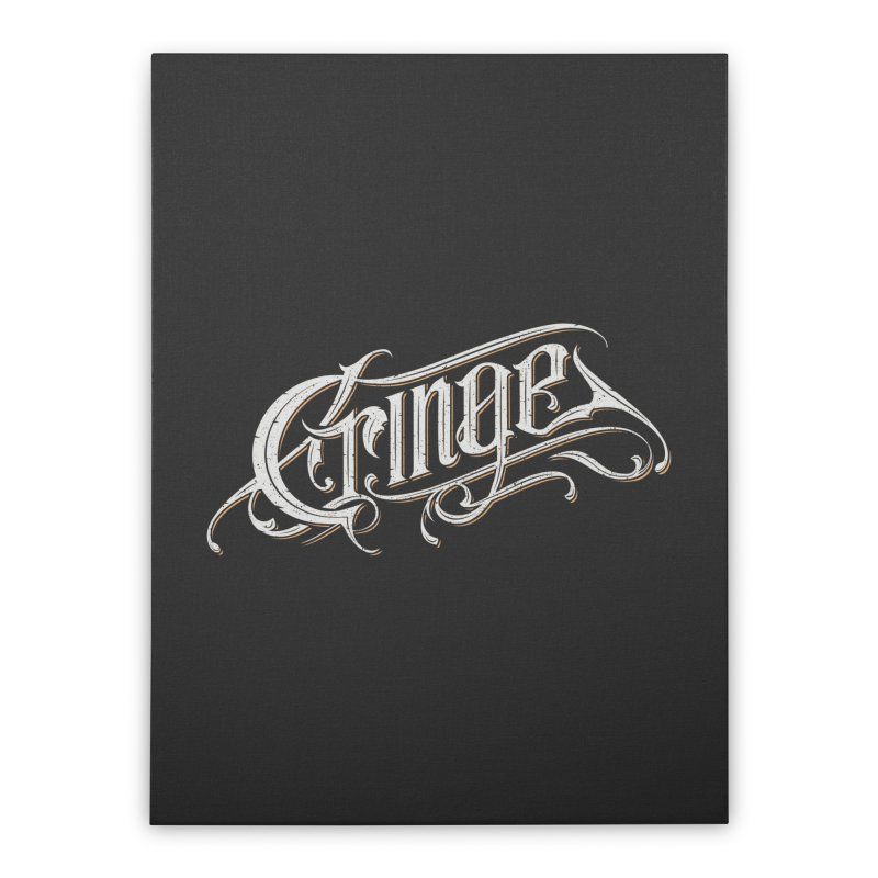 Cringe Home Stretched Canvas by Gabriel Mihai Artist Shop
