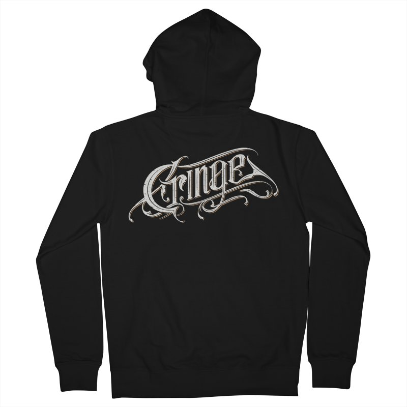 Cringe Men's Zip-Up Hoody by Gabriel Mihai Artist Shop