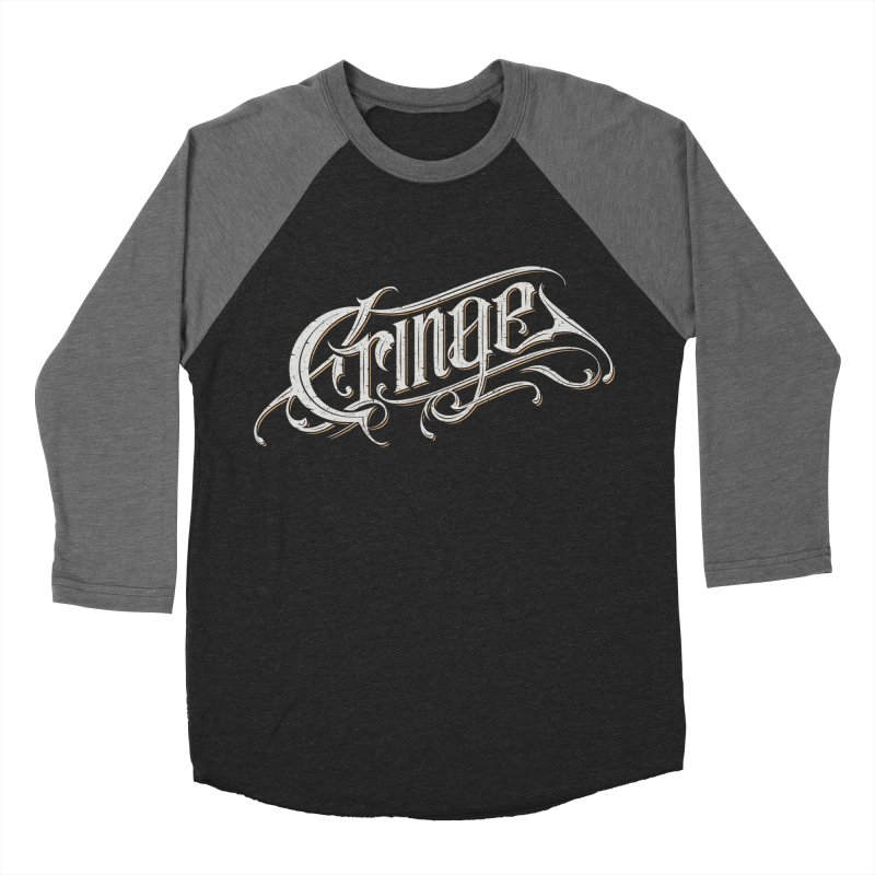 Cringe Men's Baseball Triblend Longsleeve T-Shirt by Gabriel Mihai Artist Shop