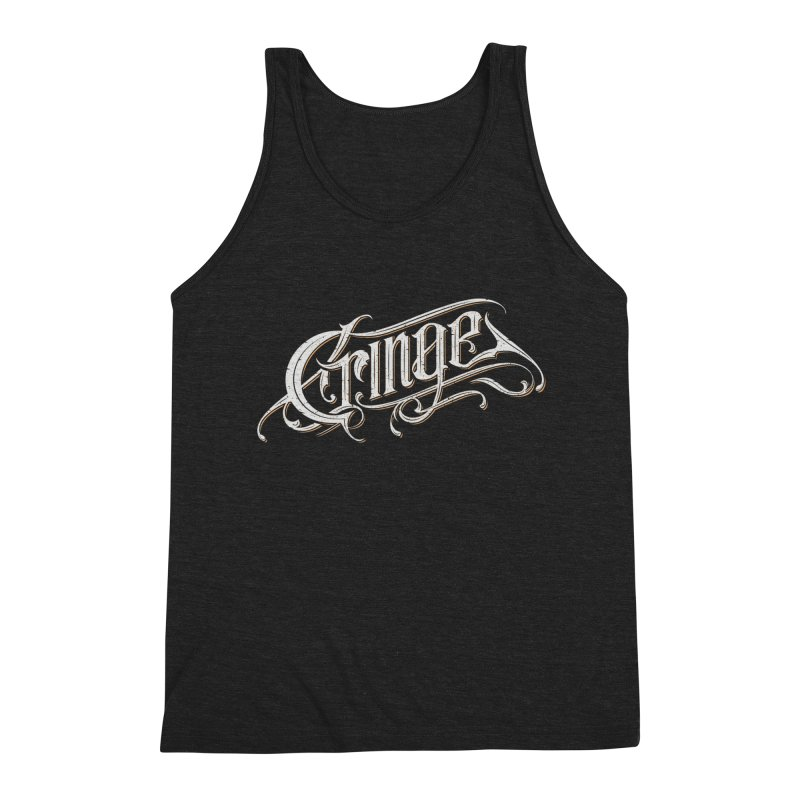 Cringe Men's Triblend Tank by Gabriel Mihai Artist Shop