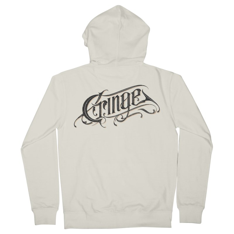 Cringe v.2 Men's Zip-Up Hoody by Gabriel Mihai Artist Shop