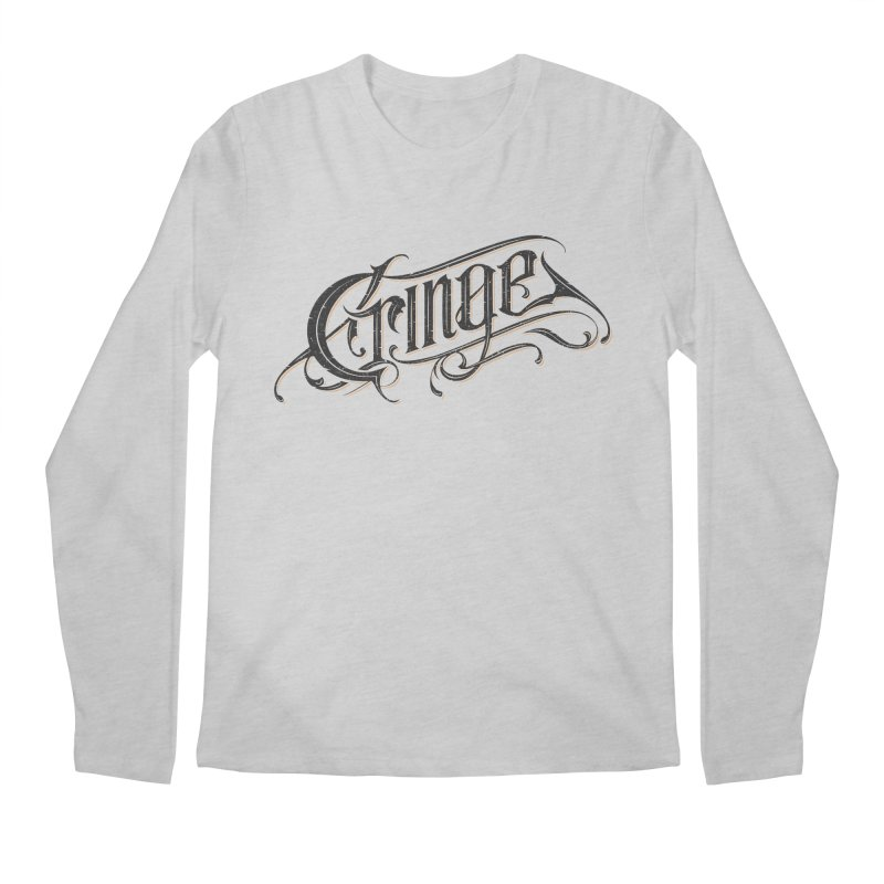 Cringe v.2 Men's Regular Longsleeve T-Shirt by Gabriel Mihai Artist Shop