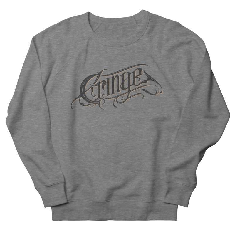 Cringe v.2 Women's Sweatshirt by Gabriel Mihai Artist Shop