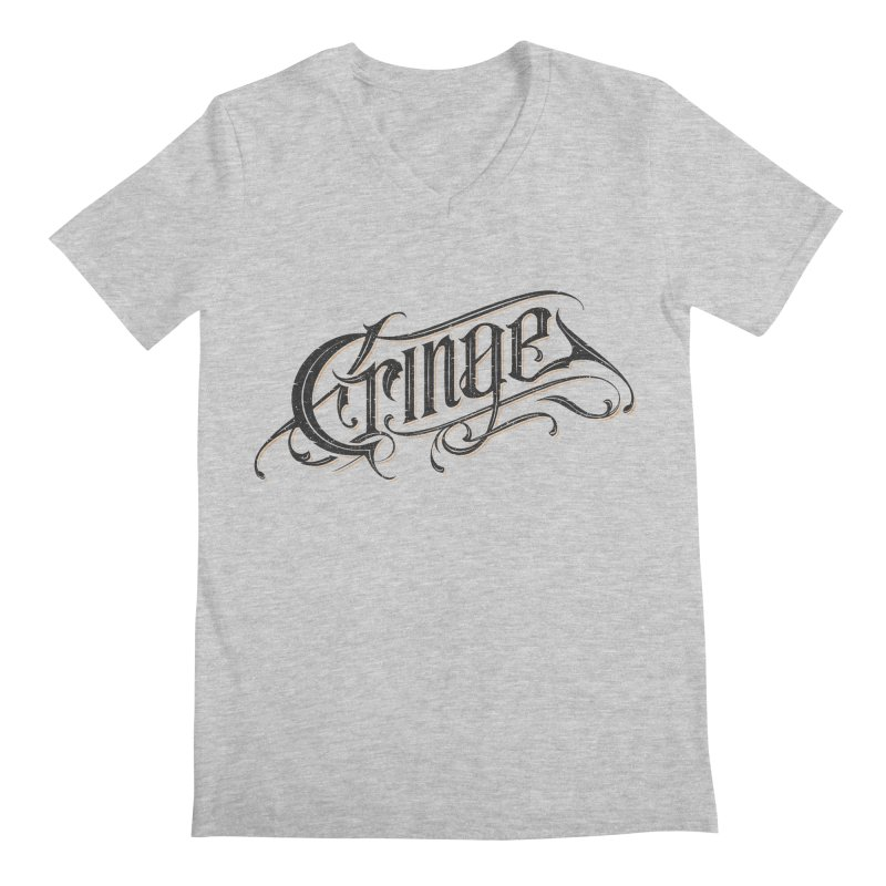 Cringe v.2 Men's Regular V-Neck by Gabriel Mihai Artist Shop