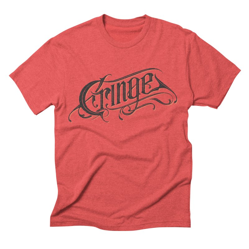 Cringe v.2 Men's Triblend T-shirt by Gabriel Mihai Artist Shop