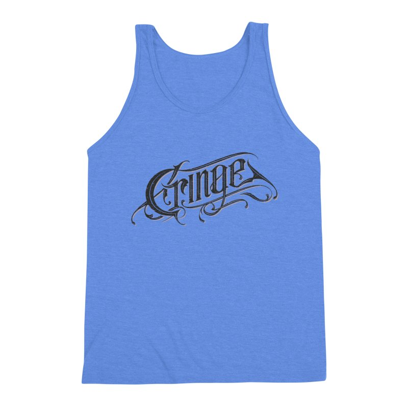 Cringe v.2 Men's Triblend Tank by Gabriel Mihai Artist Shop