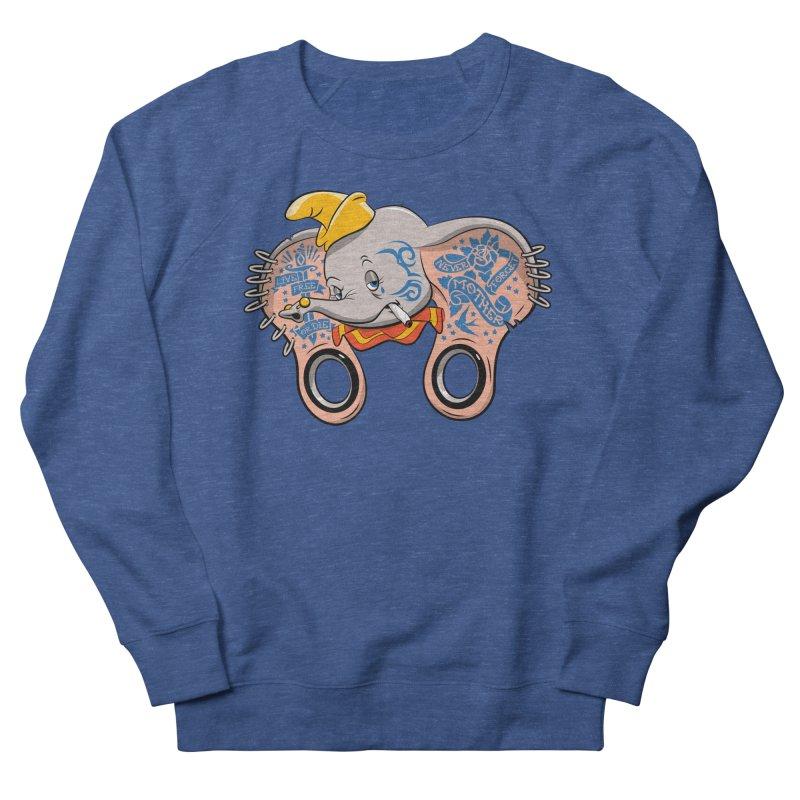 Dumbo Grown Men's Sweatshirt by Snapcracklepop's Artist Shop