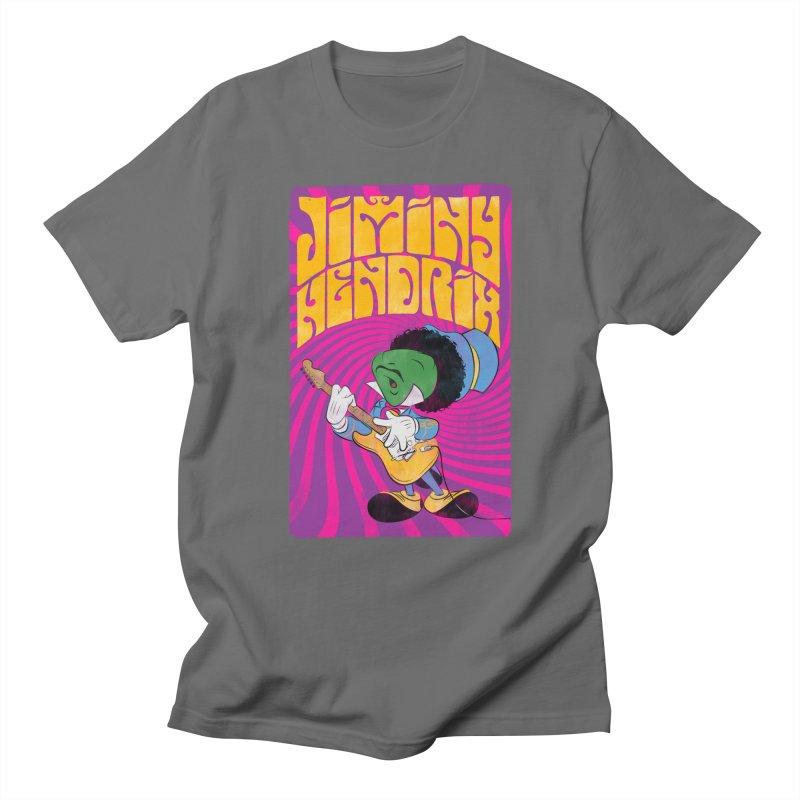 Jiminy Hendrix Men's T-Shirt by Snapcracklepop's Artist Shop