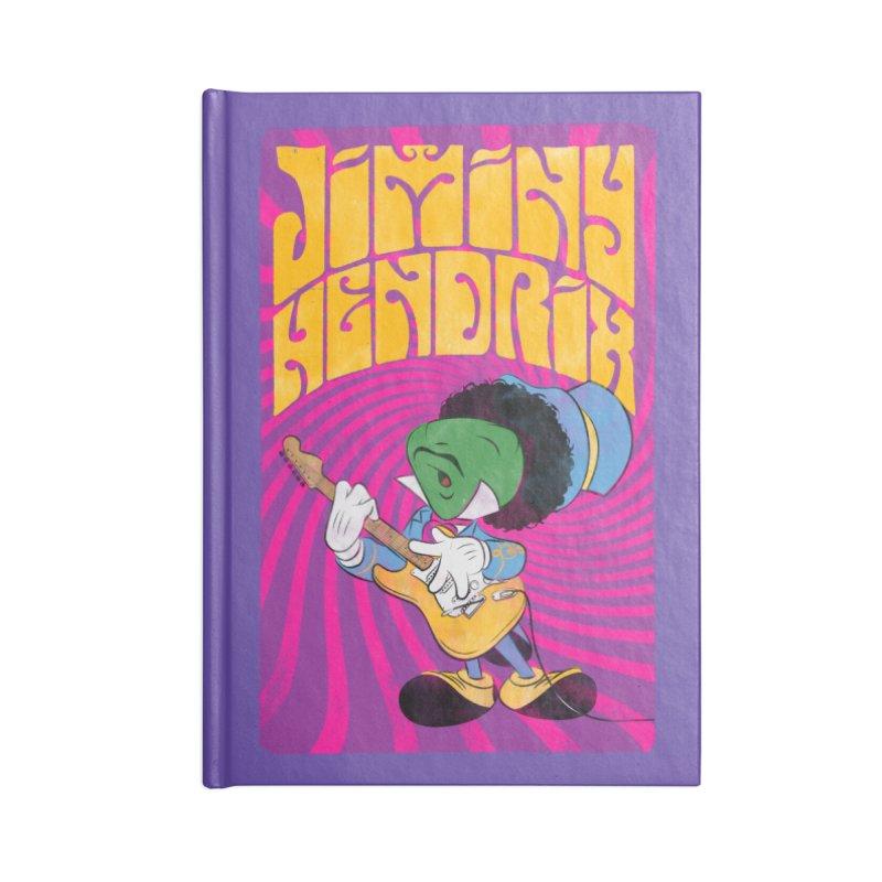 Jiminy Hendrix Accessories Notebook by Snapcracklepop's Artist Shop