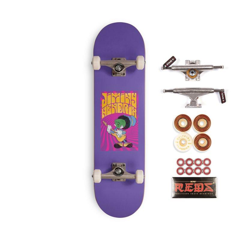 Jiminy Hendrix Accessories Skateboard by Snapcracklepop's Artist Shop