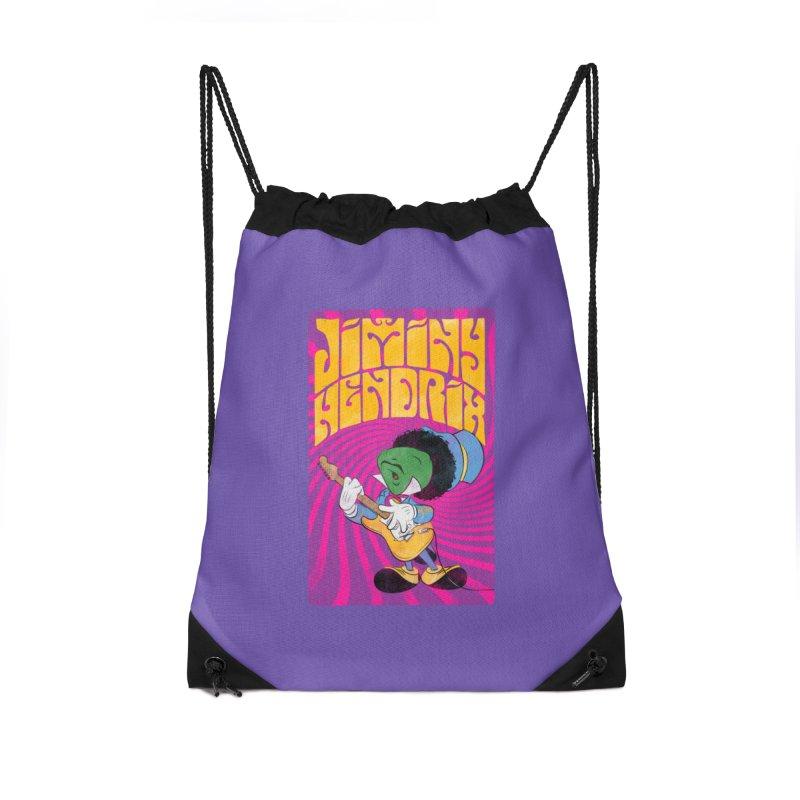 Jiminy Hendrix Accessories Bag by Snapcracklepop's Artist Shop