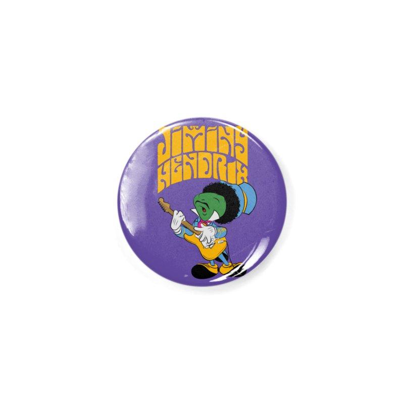 Jiminy Hendrix no background Accessories Button by Snapcracklepop's Artist Shop