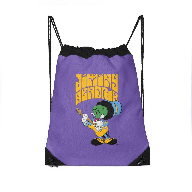 Jiminy Hendrix no background Accessories Bag by Snapcracklepop's Artist Shop