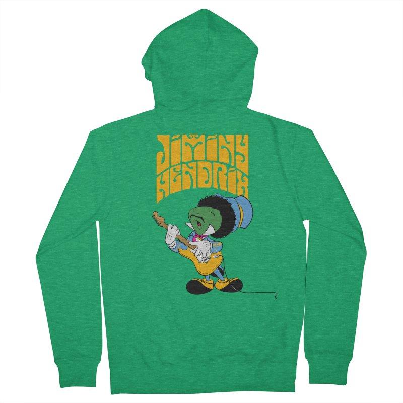 Jiminy Hendrix no background Men's Zip-Up Hoody by Snapcracklepop's Artist Shop