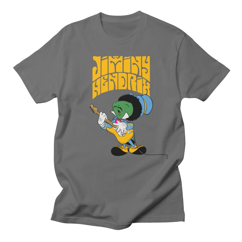 Jiminy Hendrix no background Men's T-Shirt by Snapcracklepop's Artist Shop