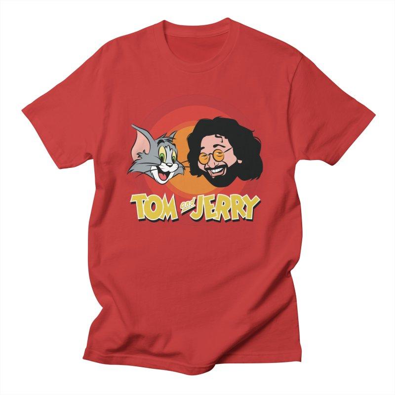 Tom & Jerry Men's T-Shirt by Snapcracklepop's Artist Shop