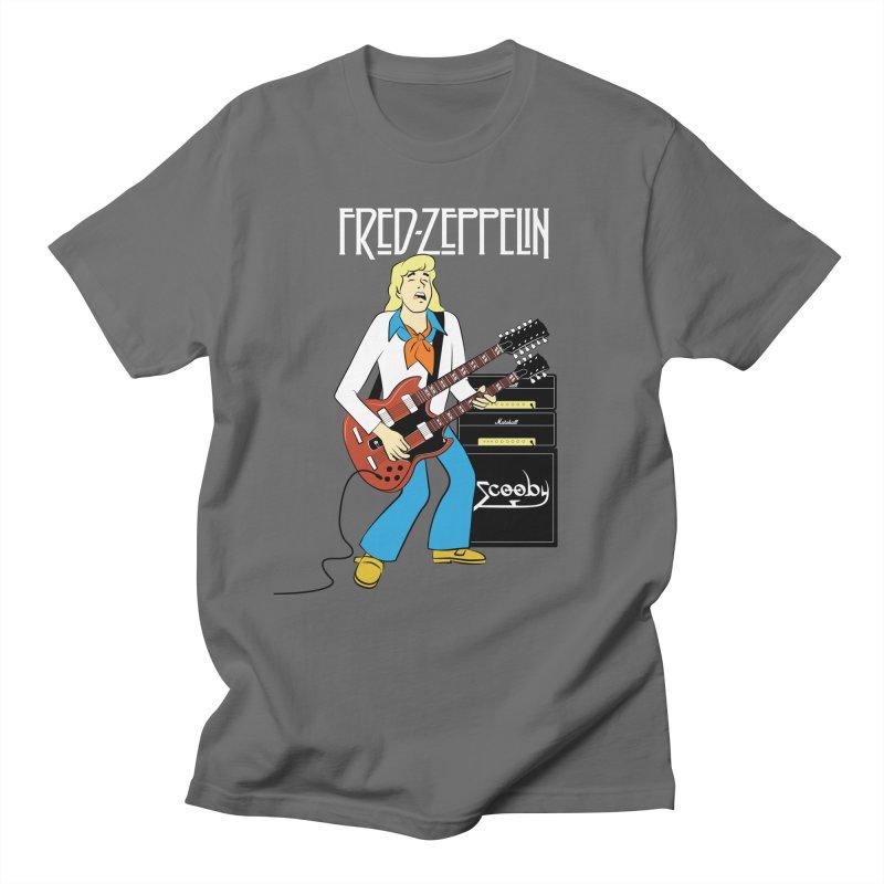 Fred Zeppelin Men's T-Shirt by Snapcracklepop's Artist Shop