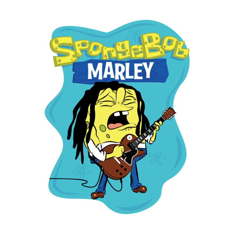SpongeBob Marley Men's T-Shirt by Snapcracklepop's Artist Shop