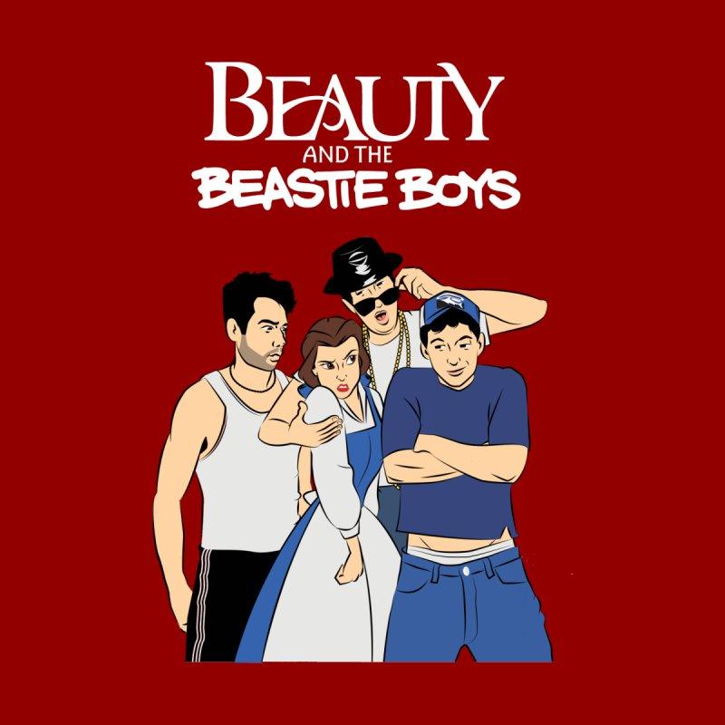 Beauty and the Beastie Boys Men's T-Shirt by Snapcracklepop's Artist Shop