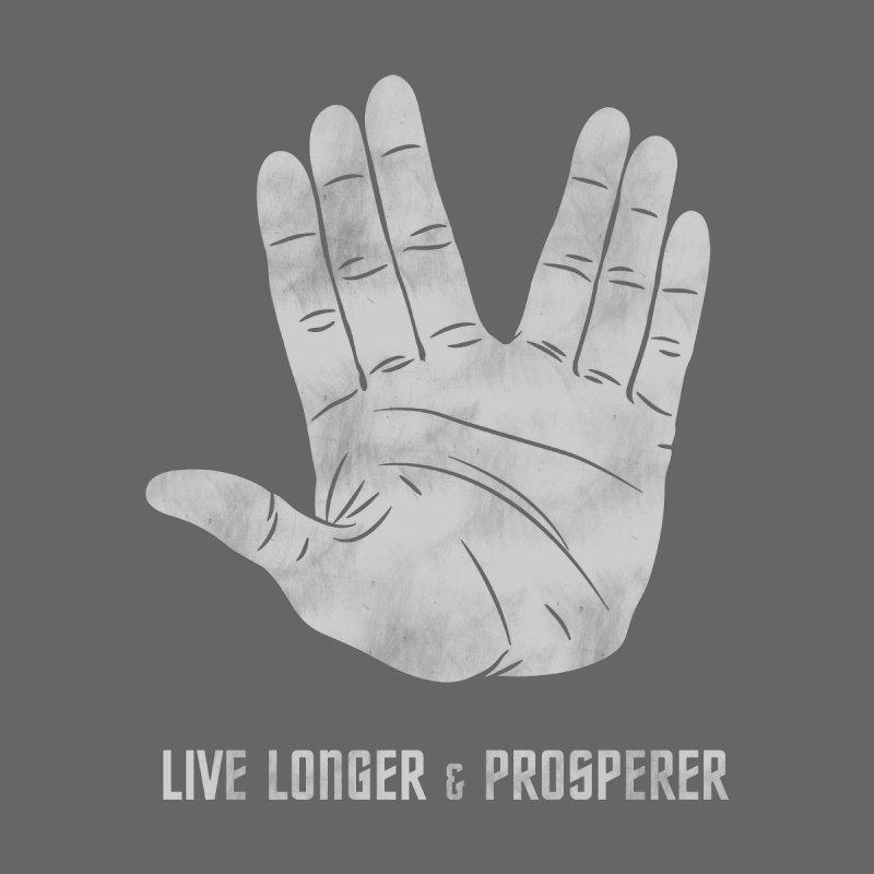 Live Longer & Prosperer Kids Pullover Hoody by Snapcracklepop's Artist Shop
