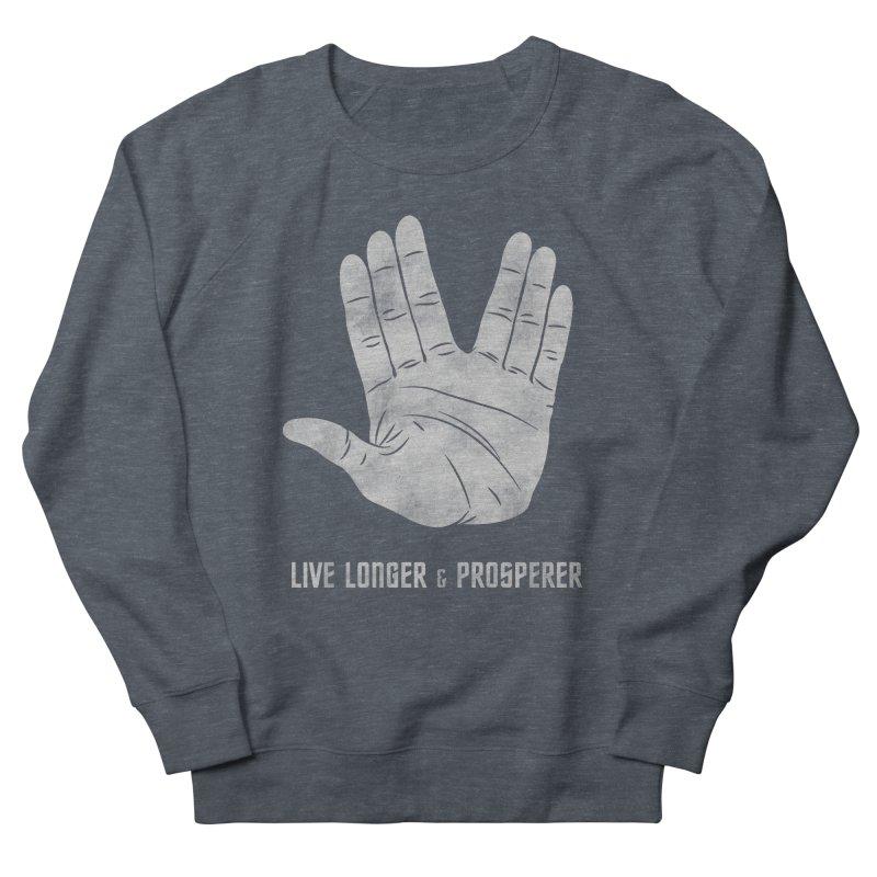 Live Longer & Prosperer Men's Sweatshirt by Snapcracklepop's Artist Shop