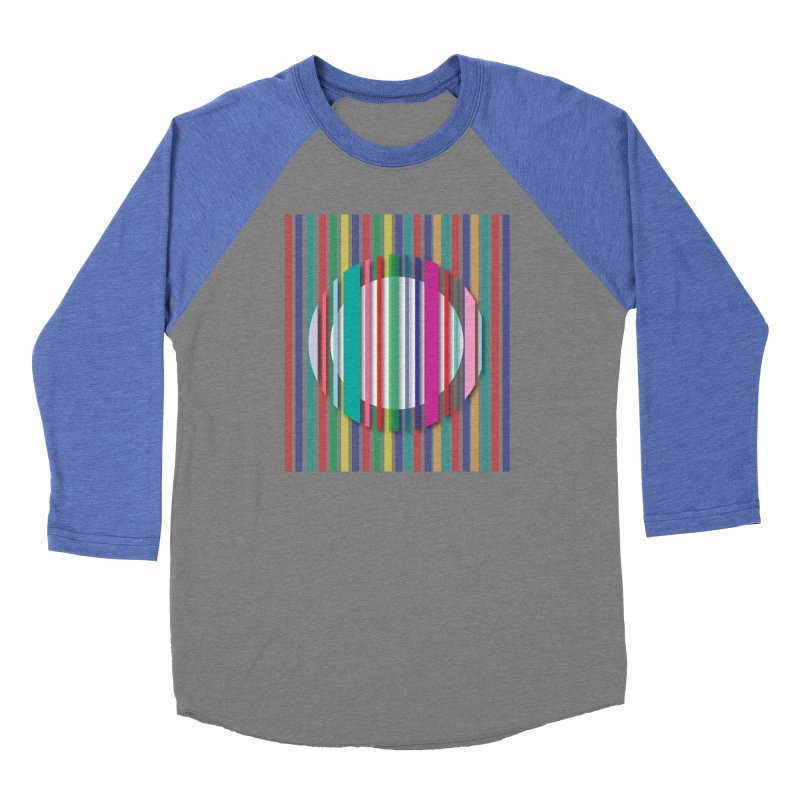 Abstract_with_stripes Men's Baseball Triblend Longsleeve T-Shirt by snapdragon64's Shop