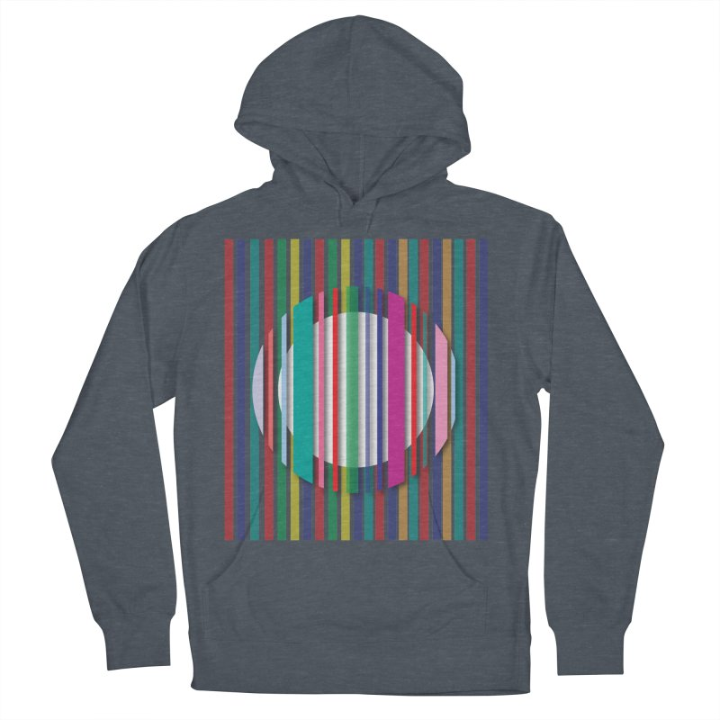 Abstract_with_stripes Women's French Terry Pullover Hoody by snapdragon64's Shop