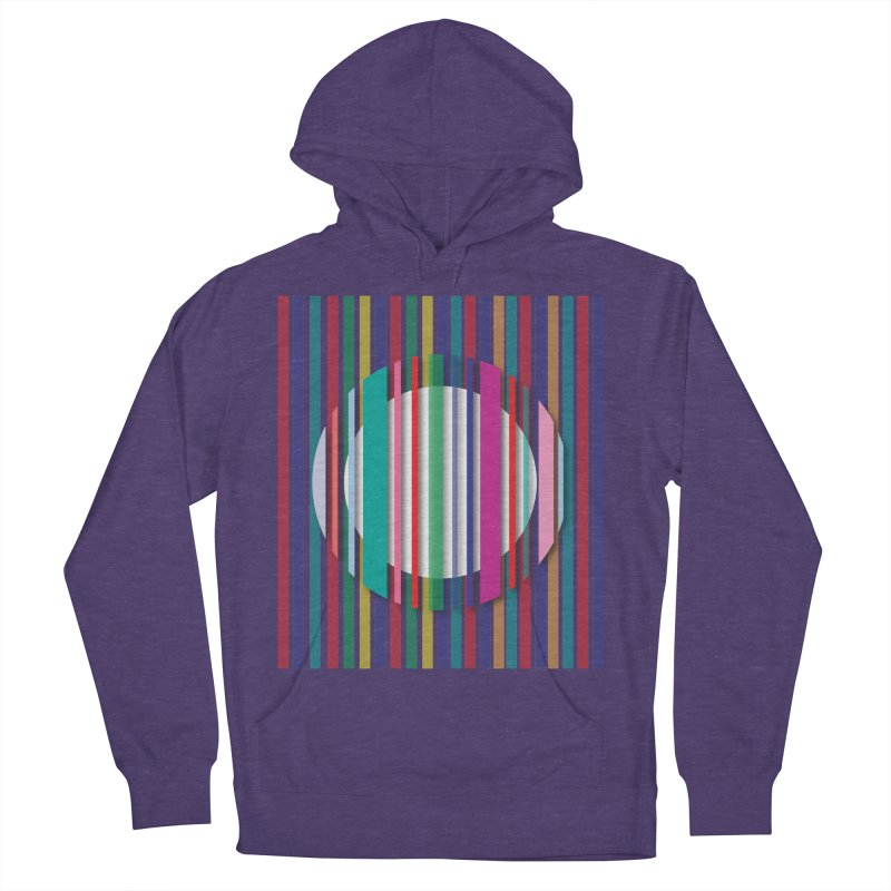 Abstract_with_stripes Men's French Terry Pullover Hoody by snapdragon64's Shop