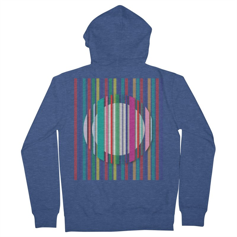 Abstract_with_stripes Women's Zip-Up Hoody by snapdragon64's Shop