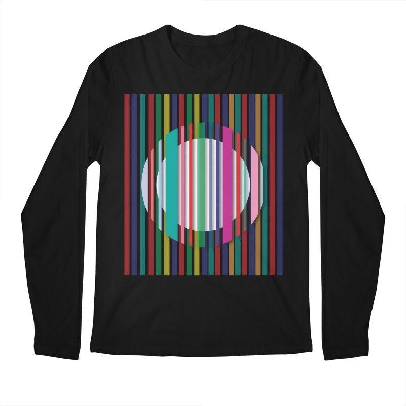 Abstract_with_stripes Men's Longsleeve T-Shirt by snapdragon64's Shop