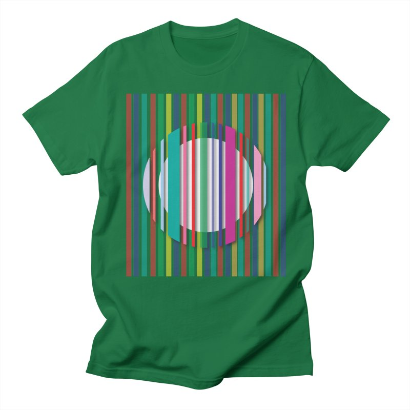 Abstract_with_stripes Men's T-Shirt by snapdragon64's Shop