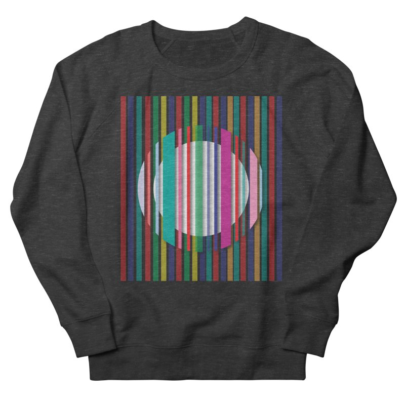 Abstract_with_stripes Women's French Terry Sweatshirt by snapdragon64's Shop