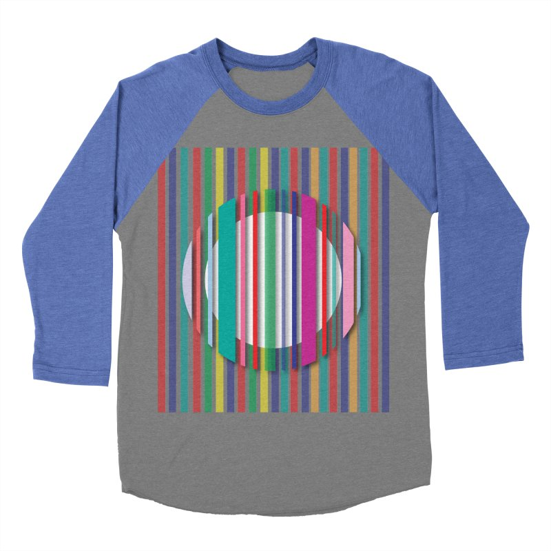 Abstract_with_stripes Women's Baseball Triblend Longsleeve T-Shirt by snapdragon64's Shop