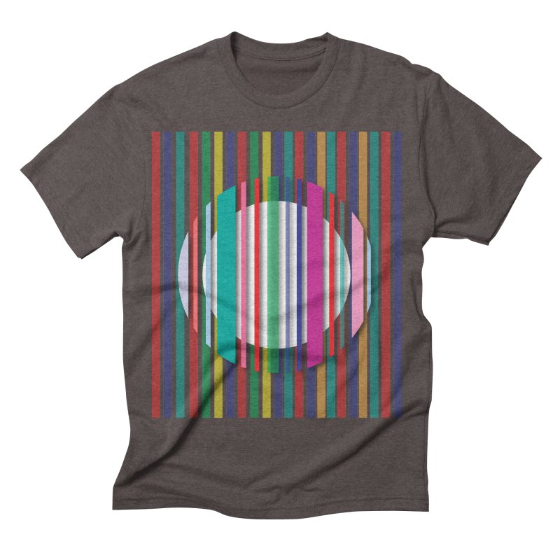 Abstract_with_stripes Men's Triblend T-shirt by snapdragon64's Shop