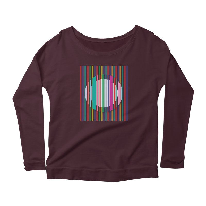 Abstract_with_stripes Women's Longsleeve T-Shirt by snapdragon64's Shop