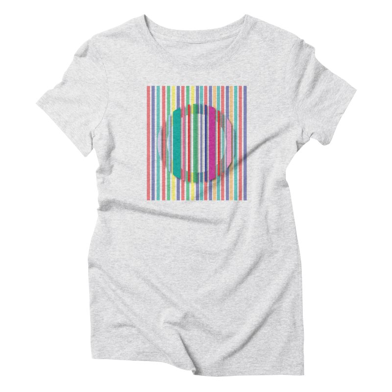 Abstract_with_stripes Women's T-Shirt by snapdragon64's Shop