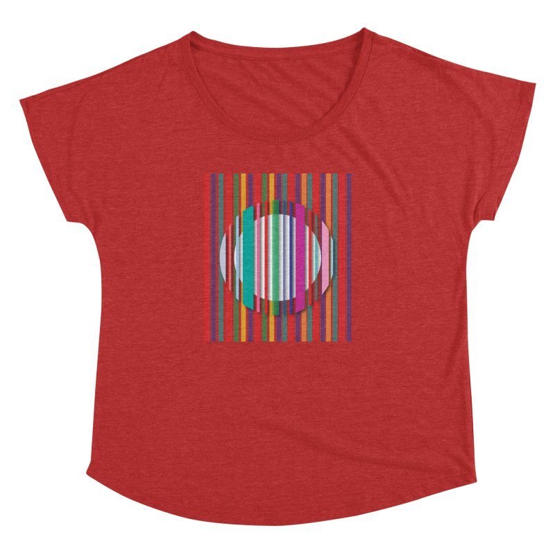 Abstract_with_stripes Women's Dolman by snapdragon64's Shop